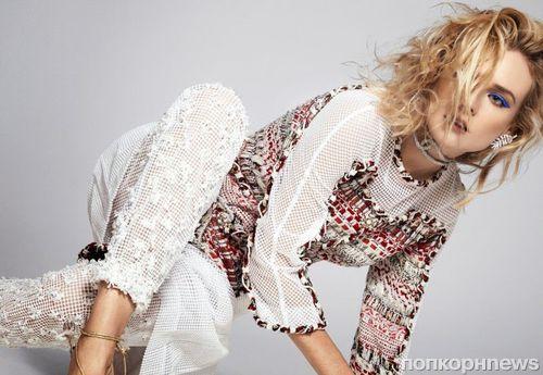 Диана Крюгер в журнале Harper's Bazaar Австралия. Ноябрь 2014
