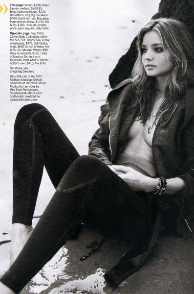 Миранда Керр в журнале Marie Claire. Январь 2010