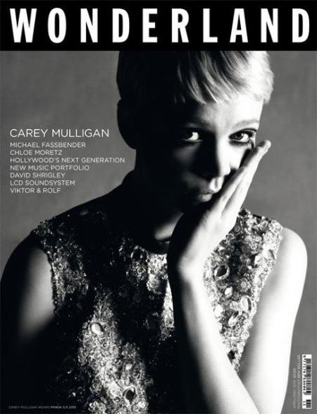 Кэрри Маллиган в журнале Wonderland. Апрель/Май 2010