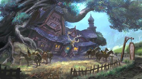 Волшебный мир Рапунцель