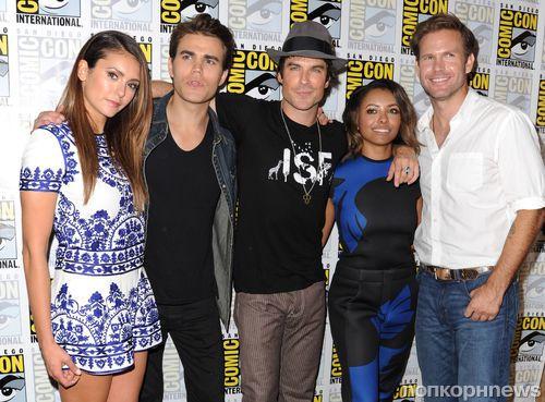 Звезды сериала «Дневники вампира» на фестивале Comic-Con 2014
