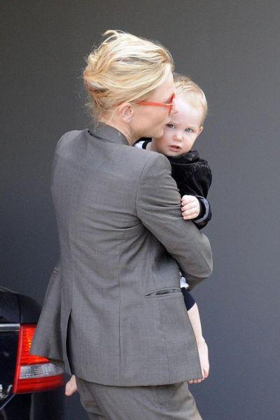 Кейт Бланшетт после инцидента в Сиднее