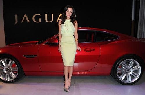 Меган Фокс на вечеринке Jaguar