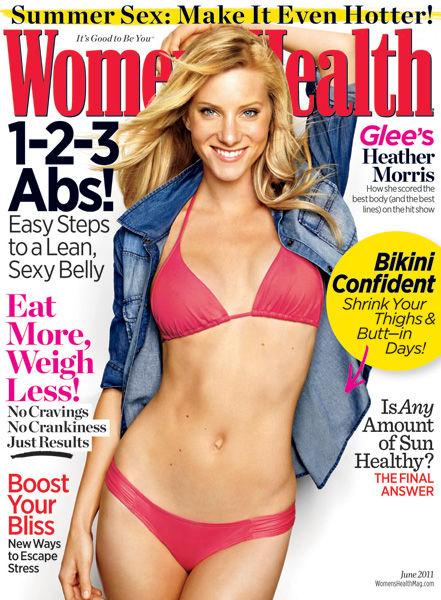 Хизер Моррис в журнале Women's Health. Июнь 2011