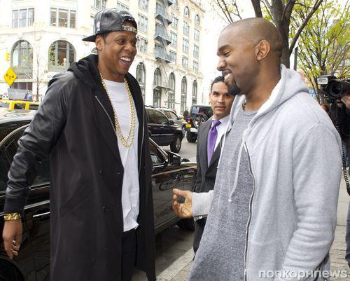 Jay Z будет шафером на свадьбе Канье Уэста и Ким Кардашян