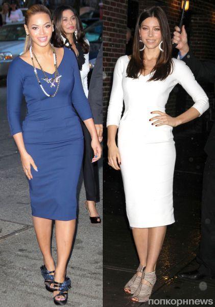 Fashion battle: Бейонсе и Джессика Бил