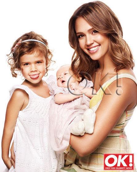 Джессика Альба показала младшую дочь