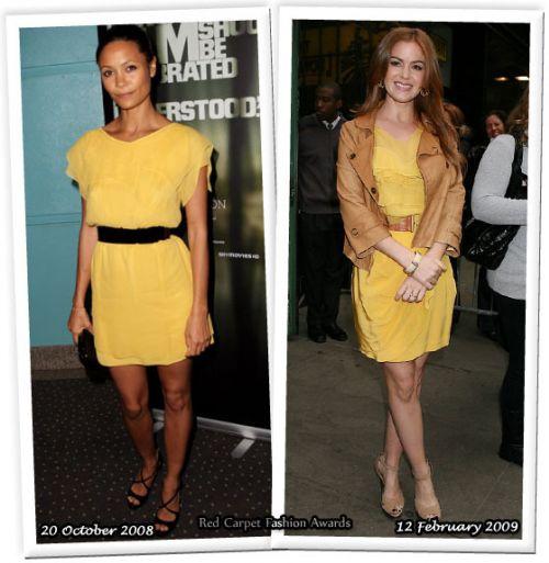 Fashion battle: Беки Ньютон и Айла Фишер