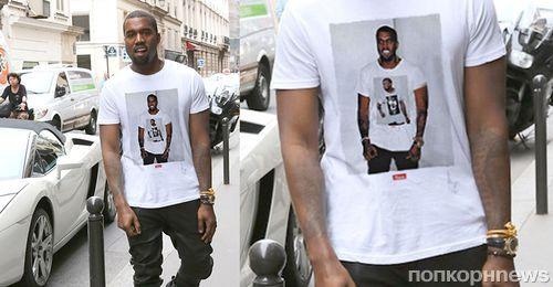 Канье Уэст продает двухдолларовые футболки почти за 100 долларов
