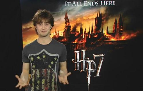 Видео: Дэниел Рэдклифф обращается к поклонникам Гарри Поттера