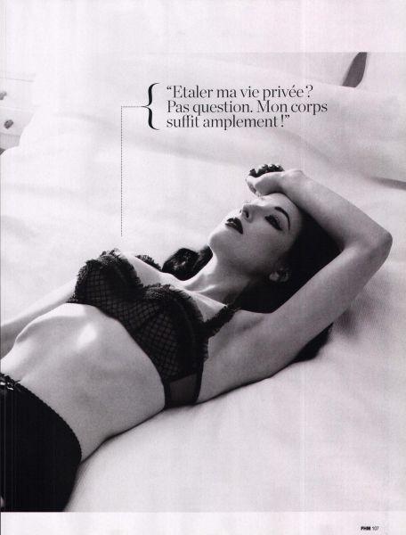 Дита фон Тиз в журнале FHM. Франция. Февраль 2009