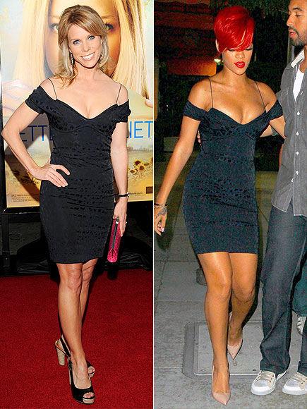 Fashion battle: Шерил Хайнс и Рианна