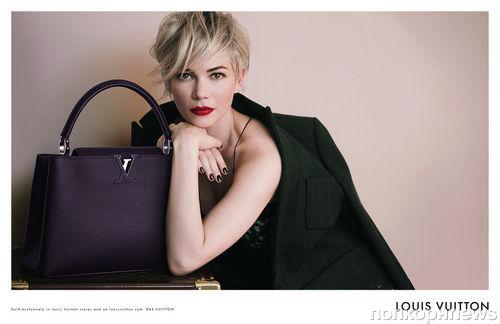 Мишель Уильямс в рекламной кампании сумок Louis Vuitton: новые кадры