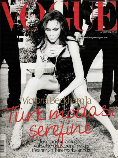 Виктория Бэкхем в журнале Vogue. Турция. Август 2010