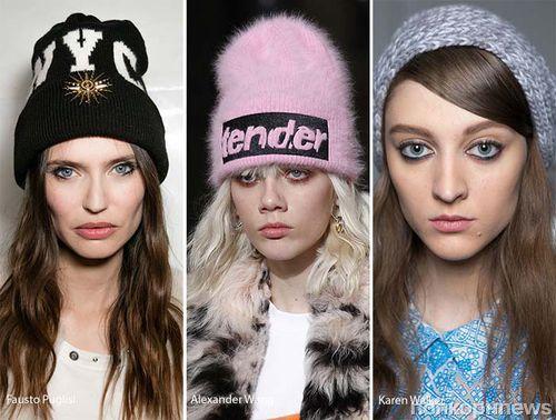 Фото обзор: модные женские шапки осень-зима 2016-17