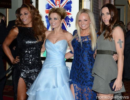 Spice Girls на премьере мюзикла Viva Forever