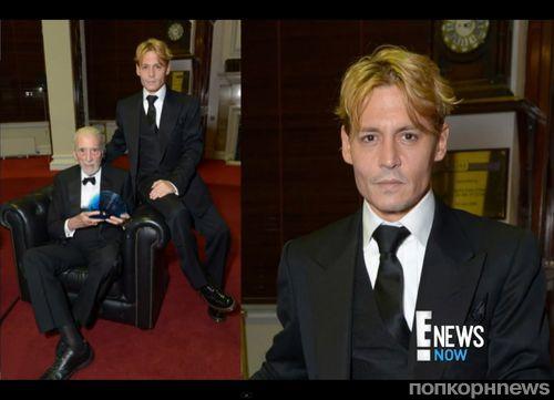 Джонни Депп стал блондином