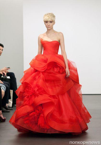 Свадебная коллекция Vera Wang. Весна 2013