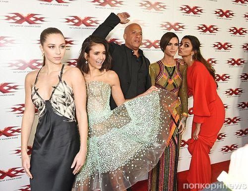 Вин Дизель, Нина Добрев и другие звезды на премьере «Три Икса: Мировое господство»