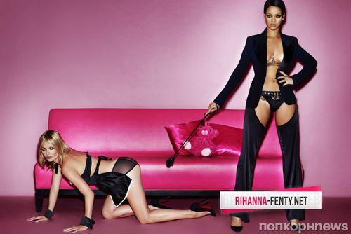 Рианна и Кейт Мосс для журнала V