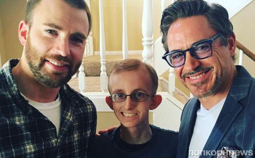 Гвинет Пэлтроу попросила Роберта Дауни-младшего и Криса Эванса навестить больного раком фаната
