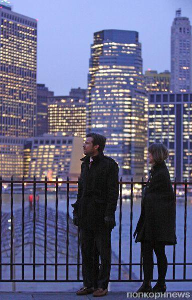 """Оливия Уайлд на съемках фильма """"Самая длинная неделя"""" в Нью-Йорке"""