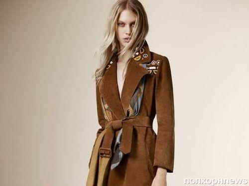 Новая коллекция Burberry Pre-Fall 2015