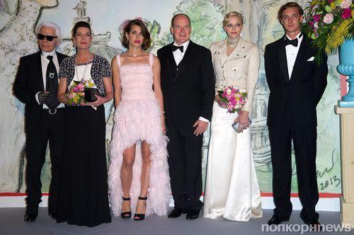 Звезды на церемонии Bal de la Rose du Rocher