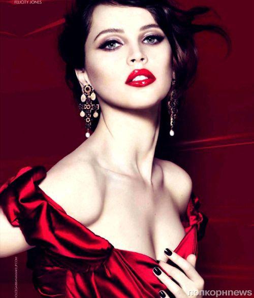 Фелисити Джонс для рекламной кампании Dolce & Gabbana: первый взгляд