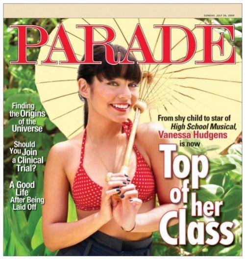 Ванесса Хадженс в журнале Parade