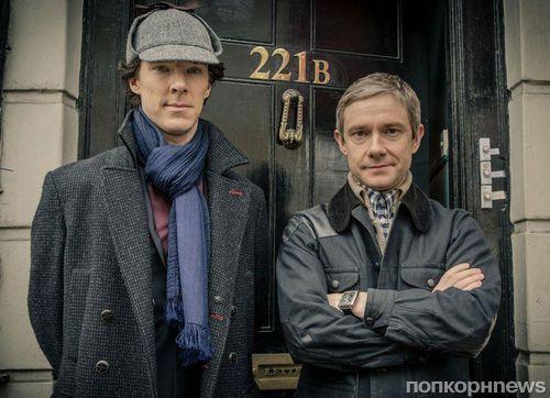 Премьера 4 сезона «Шерлока» состоится в конце декабря 2016
