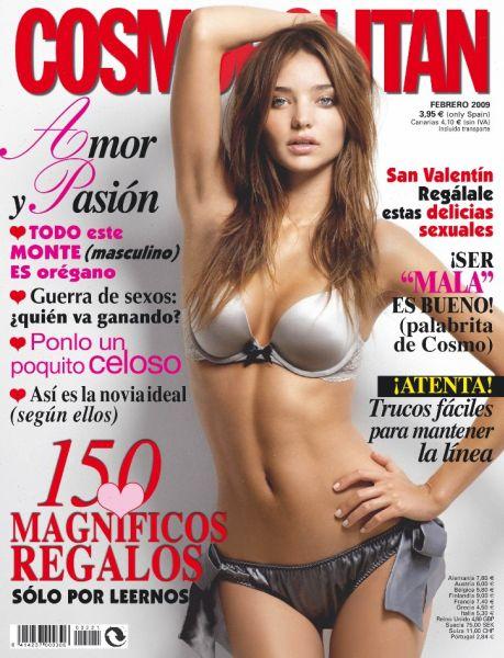 Миранда Керр в испанском Cosmopolitan и японском Vogue