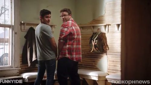 Видео: Сет Роген и Зак Эфрон разыгрывают коллег