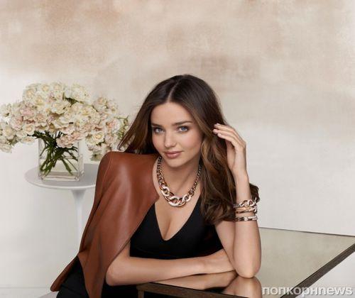 Миранда Керр в новой рекламной кампании Swarovski: первый взгляд
