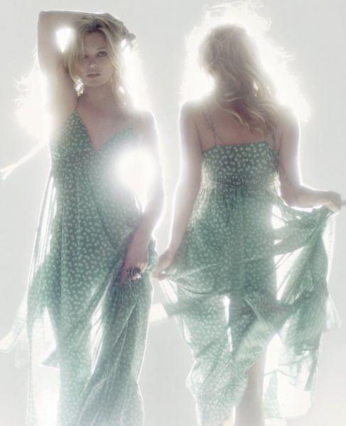 Кейт Мосс для Topshop. Лето 2010