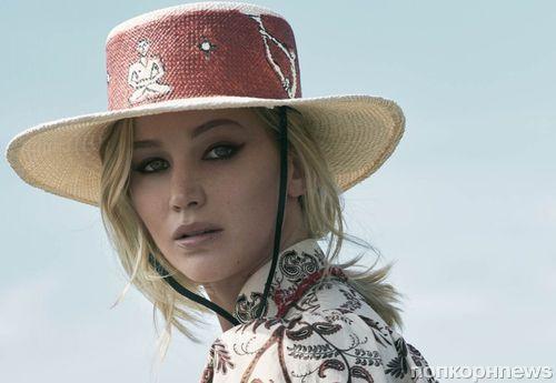 Фото: Дженнифер Лоуренс в новой рекламной кампании Dior