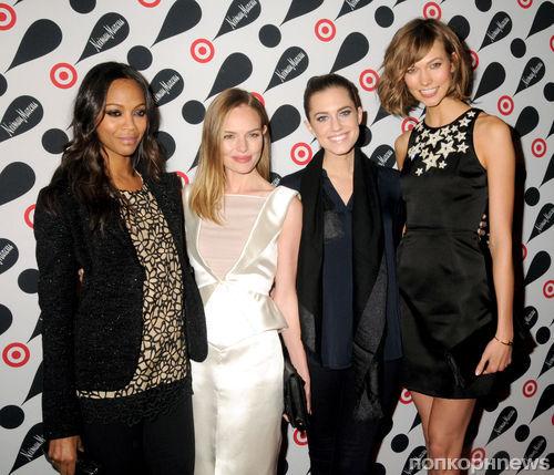 Звезды на презентации праздничной коллекции Target и  Neiman Marcus