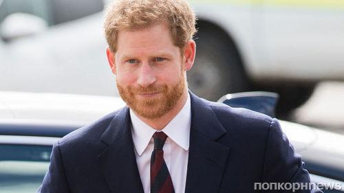 За 3 недели до свадьбы принца Гарри посадили на вегетарианскую диету
