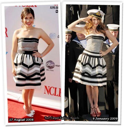 Fashion battle: Америка Феррера и Келли Брук