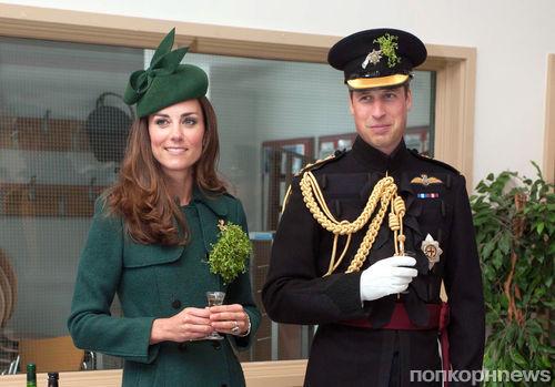 Кейт Миддлтон и принц Уильям отпраздновали день святого Патрика в Ирландии