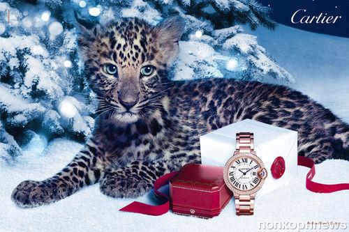 Рождественская рекламная кампания Cartier «Зимние сказки» 2012