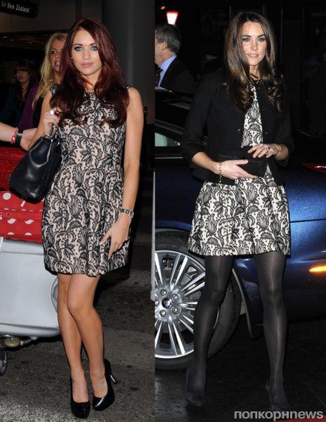 Fashion battle: Эми Чайлдс и Кейт Миддлтон