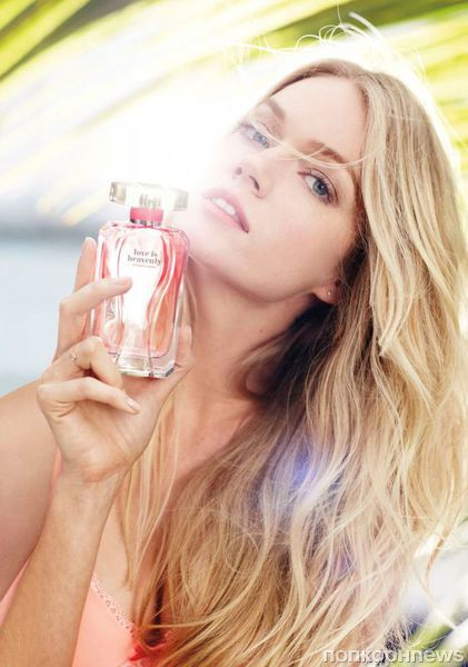 """Реклама нового аромата от Victoria's Secret """"Love is Heavenly"""""""