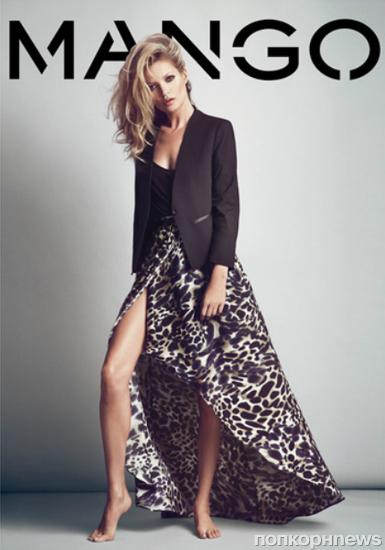 Кейт Мосс в рекламной кампании Mango. Осень / зима 2012-2013