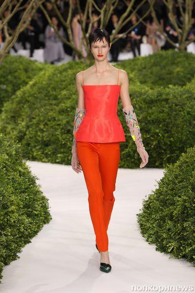 Модный показ Christian Dior Haute Couture. Весна / лето 2013