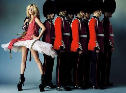 Кейт Мосс и Наоми Кэмпбелл в Vogue UK. Октябрь 2009