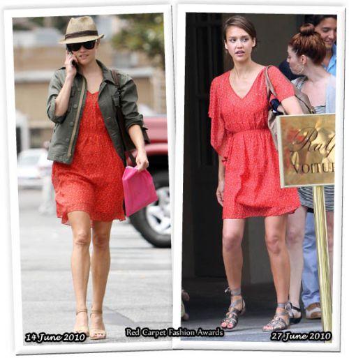 Fashion battle: Риз Уизерспун и Джессика Альба
