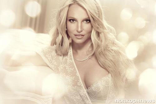 Новый кадр рекламной кампании белья от Бритни Спирс