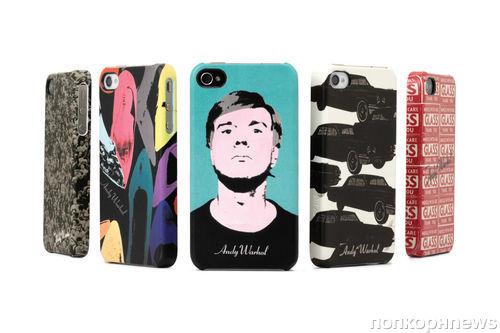 Чехлы для  iPhone по мотивам работ Энди Уорхола