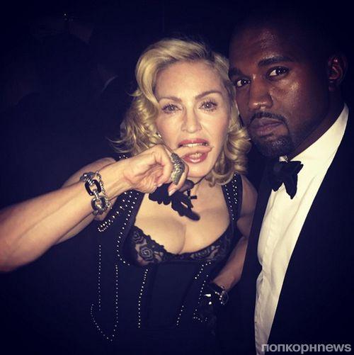 Мадонна: «Канье Уэст — это черная Мадонна»